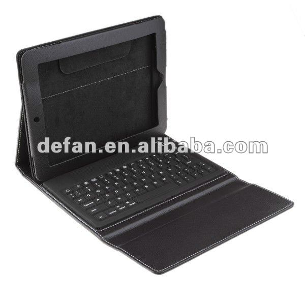 2012 New products 77-keys wireless bluetooth keyboard case for galaxy tablet