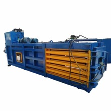 Automatic Hydraulic Baler in Horizontal Type for Compressing Hay, Sawdust, Waste Paper, Cartons