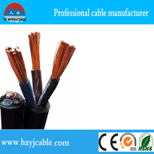 china kablo supplier, ningbo manufacturer PVC Insulated Circular Flexible Cable H07VV-K 2.5mm2