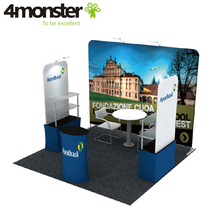 Easy portable aluminum frame 3*3 exhibition booth wall panel