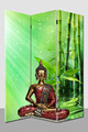 Room divider canvas ,buddha led canvas partitions room dividers