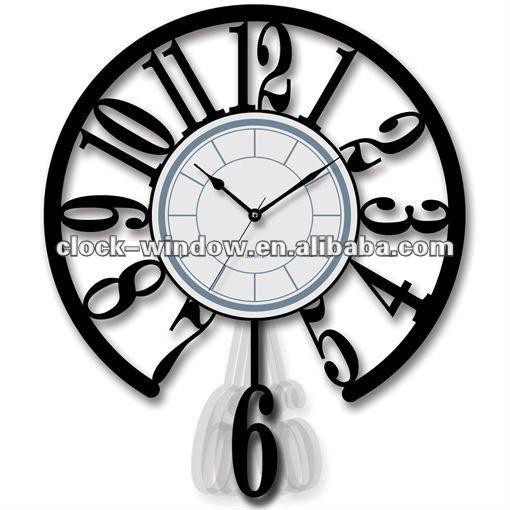 pendulum wall clock buy quartz wall wall wall clock product on alibabacom