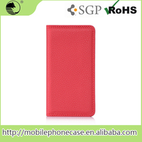 Excellent Litchi Pattern PU Mobile Leather Flip Case For iphone 6 Plus
