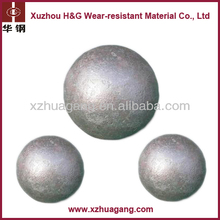 Low breakage chrome casting iron ore mill grinding ball