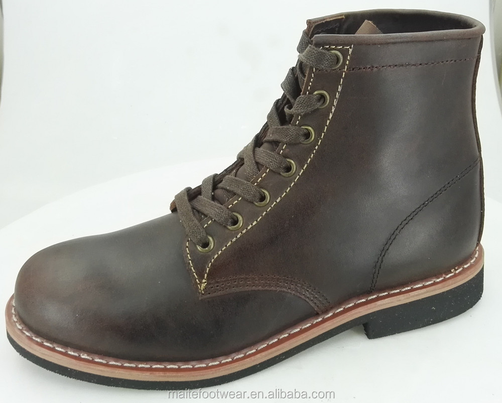 Goodyear leather boots