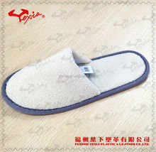 Fleece one time use slipper indoor shoes