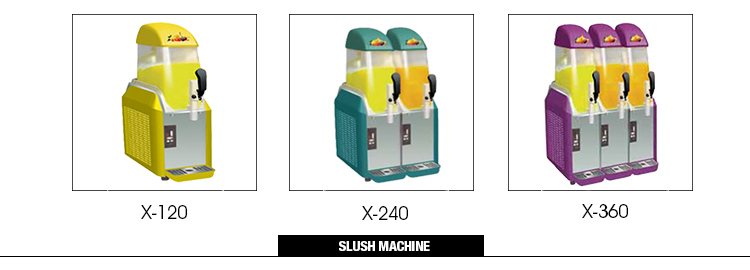2015 CHINA CHEAPEST PRICE OF SLUSH MACHINE