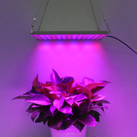 High Brightness 169 Silver Color Panel Grow Led Light For Hydroponics Grow Tent Grow Box