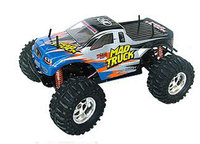 1:10 RC Electric 4WD Mad Truck BLUE