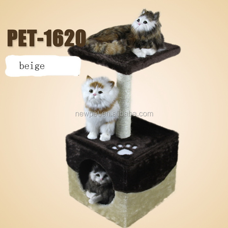 Eco-friendly new arrival cat tree house cardboard cats scratching cardboard toys