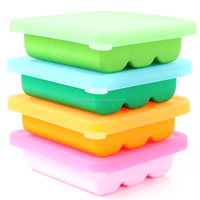 100% Food Grade Silicone Material and Ice Cream Makers Ice Cream Tools Type silicone ice cube tray