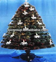 Outdoor Artification Christmas Tree With Lighted