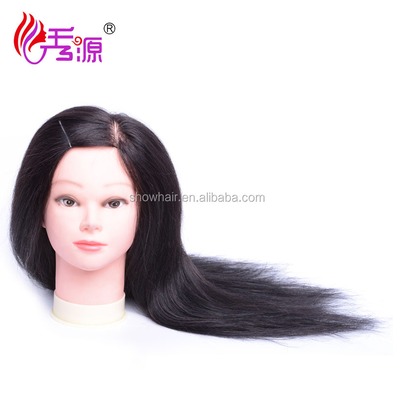 Wholesale price Realistic Fiberglass mannequin head with shoulders for wigs