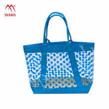 New fashion new design Ultra-low price Waterproof High Quality pvc shopping bag