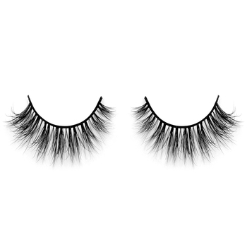 Top quality beauty supply reusable 100% 3d siberian mink lashes with best price