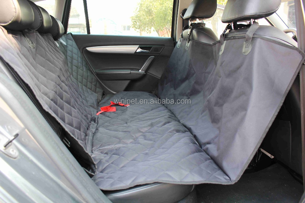 Winipet CD027# Padded and Quilted pet car seat cover for luxurious comfort Dog Car Seat Protector