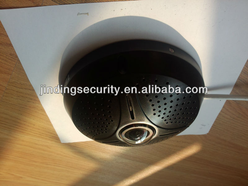 Quad 360degree fisheyes 1080P IP Panoramic Camera