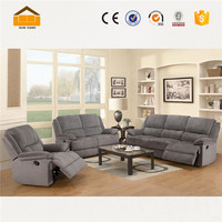pu sofa leather living room furniture sofa set