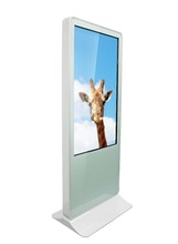 55 inch lcd monitor usb media player for advertising Transparent oled display manufacturers