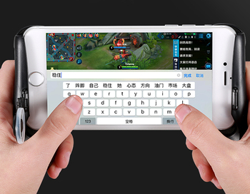 2018 Amzom hot selling joystick gamepad/mobile game controller/mobile game grip