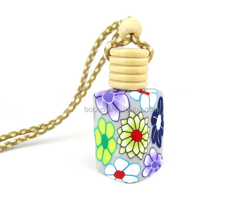 factory direct glass vent car freshener flavors perfume bottle