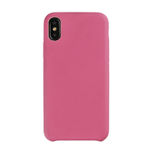 Soft PU Leather Grain Mobile Phone Case Covers For Iphone X