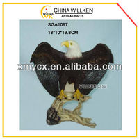 Handmade Polyresin Large Eagle Statue For Sale