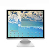 Flat structure low cost 15 inch lcd monitor for promotion gift