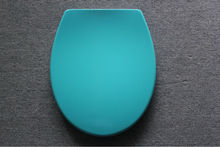 Green duroplast toilet seat soft close quick released