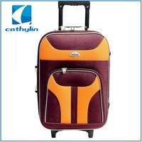 Cathylin 2015 good quality hot sell travel luggage set ,travel time luggage Cheap Trolley Suitcase custom luggage travel bags