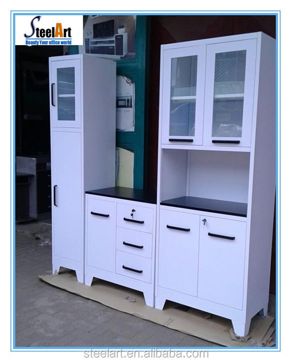 Modular Metal Cupboard Cheap Used Kitchen Cabinets Buy Used Kitchen Cabinets Metal Kitchen Cabinets Modular Kitchen Cabinets Product On Alibaba Com