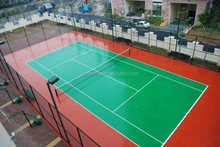 non toxic outdoor basketball court recycled tire rubber flooring