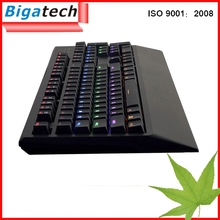 Shenzhen Computer Accessories wired gaming USB computer keyboard colored keys