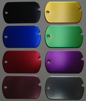 Engravable Blank Dog Tags With Notch Mix and Match for Quantity Discounts