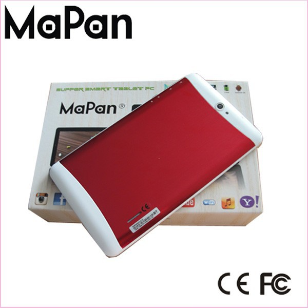 Mini tablet computer dual sim cards 7 inch tablet phone, MaPan tablet pc android 4.4