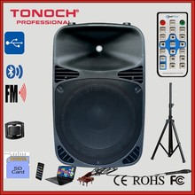 15 Inches Plastic Active Speaker for Model The15ub