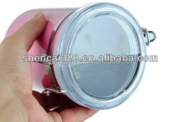 4pcs Colorful stainless steel kitchen Food Container / Canister jar / canister set