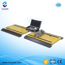 20t dynamic portable truck axle load weighing scale