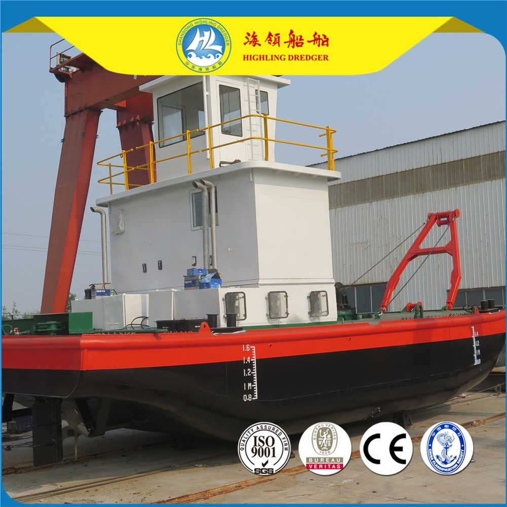 Multi-function Service Work Boat for cutter suction dredger