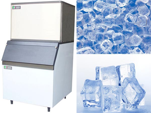 Stainless Steel industrial cube ice maker ks-1000B