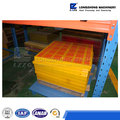 Yellow/ blue polyurethane scraper screen with high quality export to Russia