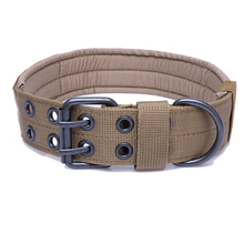 Tactical Dog Collars For Big Dogs and leashes Nylon Tactical Dog Necklace Training Hunting Accessories
