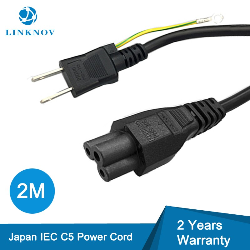 2M VCTFK Mickey Mouse C5 Plug 2 Prong Japanese Power Cord