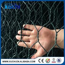 welded wire mesh 20gauge galvanized and black vinyl coated poultry wire netting manufacturer
