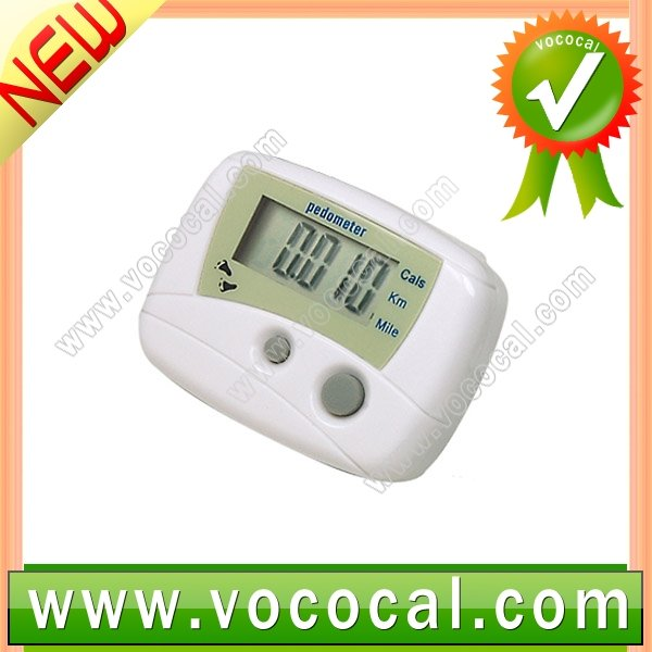 Fitness Calorie Meter Counter Distance Pedometer