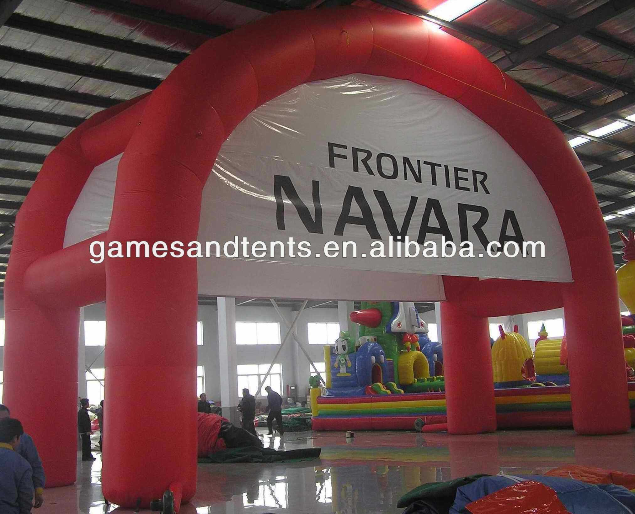 small inflatable arch tent ,custom design inflatable tent with discount F4013