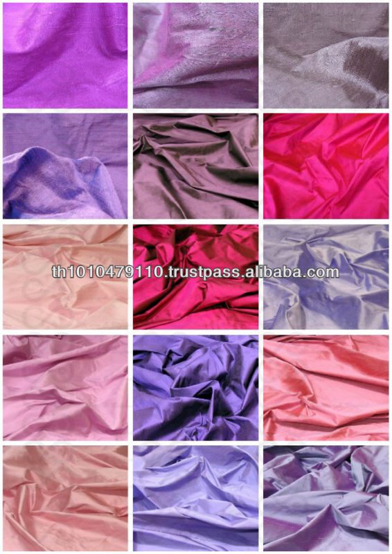 100% Silk Dupioni Fabric - Pure Thai Silk Dupion - Bows Bridal dress -Douppioni Silk Dupion