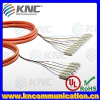 12 cores mpo single mode fiber optic cable