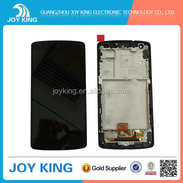 Smart lcd screen replacement for Google LG nexus 5 lcd D820 digitizer with frame
