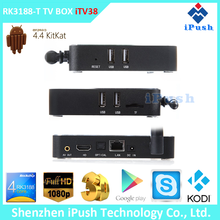 iPush Hot selling rk3188 quad core 1080p google chrome tv box with Aluminum Housing